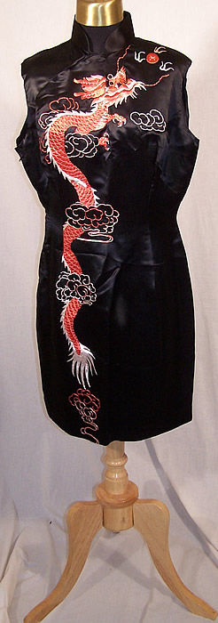 Embroidered Dragon Dress