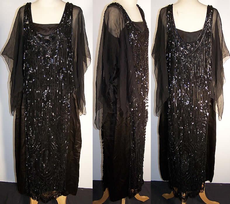 جدیدترین و زیباترین لباسهای مشکی مجلسی با پارچه های تور پولک دوزی شده