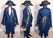 George Washington Childs Colonial Costume Tricorn Hat