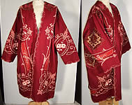 Gallery of Wearable Art Wool Embroidered Coat Jacket VTG