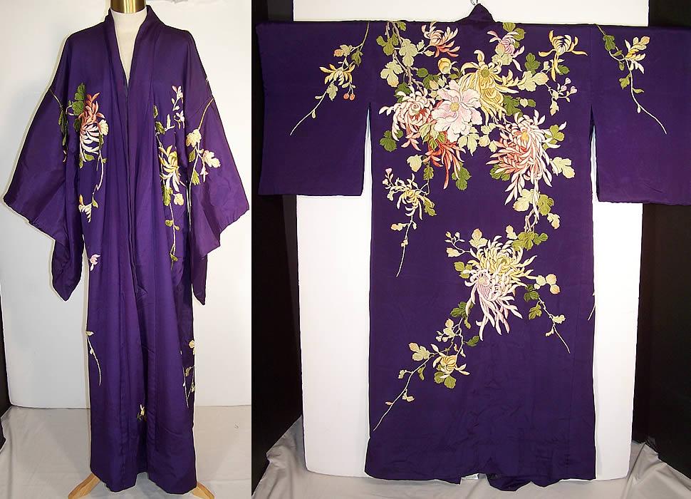 Japán kimonó 1920-ból