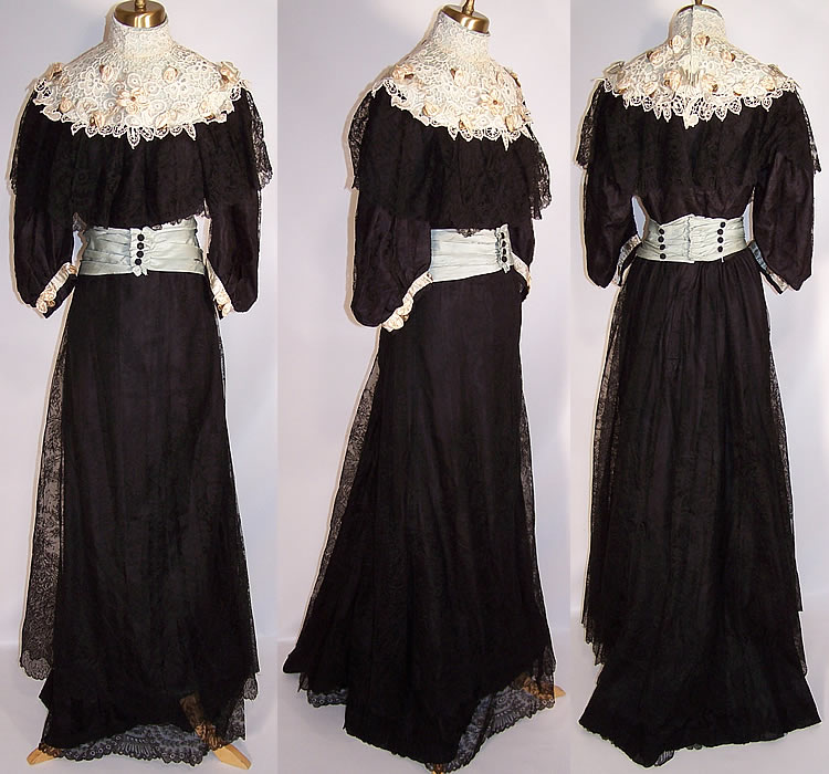 Black Victorians Black Victoriana Victorian Black Chantilly