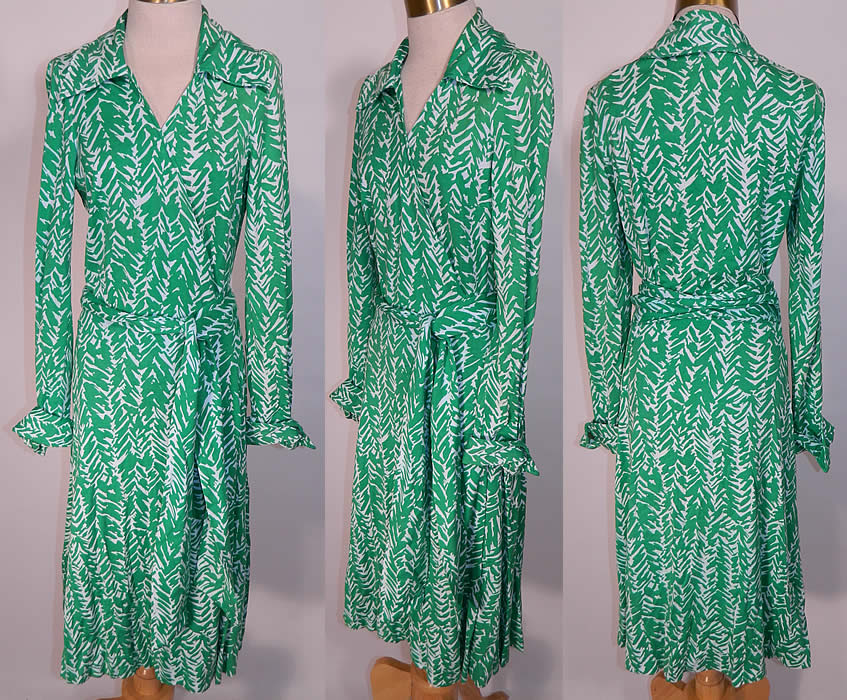 Dvf Vintage Wrap Dress Original Vintage Diane Von