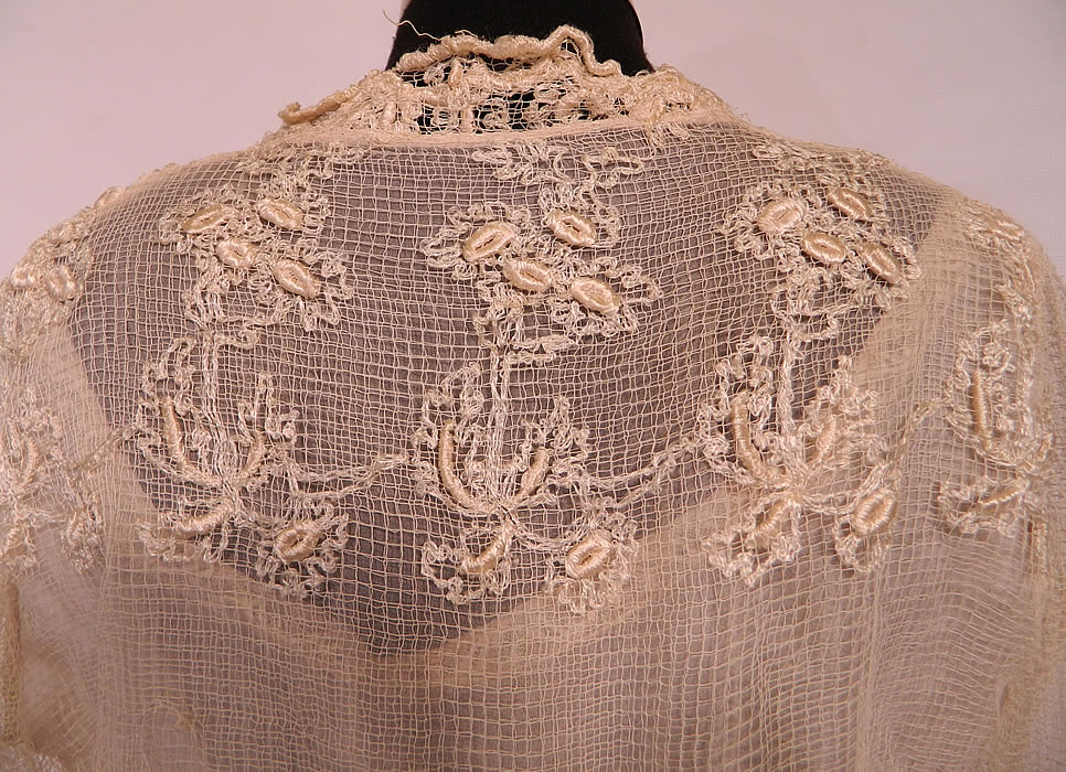 how to make filet lace net