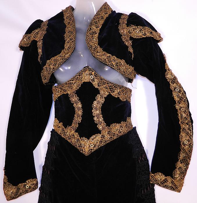 Vintage Spanish Matador Bullfighter Bolero Jacket Knickers Waist ...