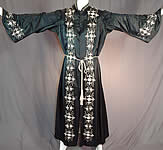 Victorian Vintage Ward Stilson Co Fraternal Regalia Embroidered Ceremonial Robe Gown