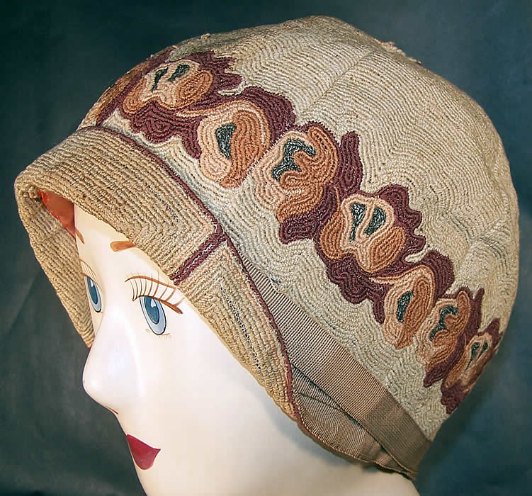 CROCHET VINTAGE FLAPPER STYLE CLOCHE HAT PATTERN – Crochet Club