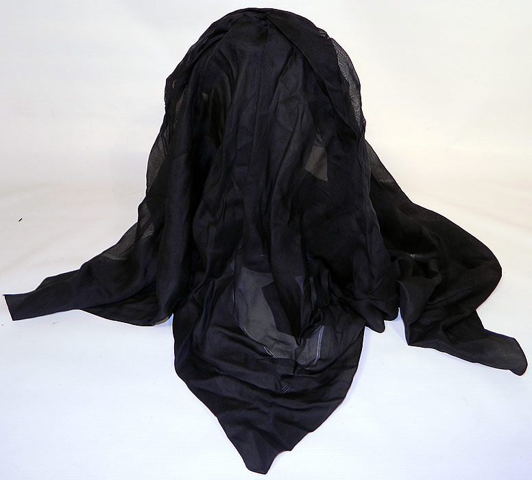 how to make a mourning veil