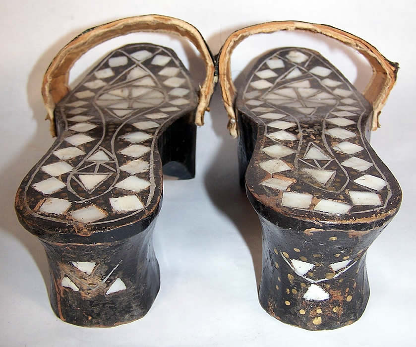 7 inch high heel cork wedges - 1 6