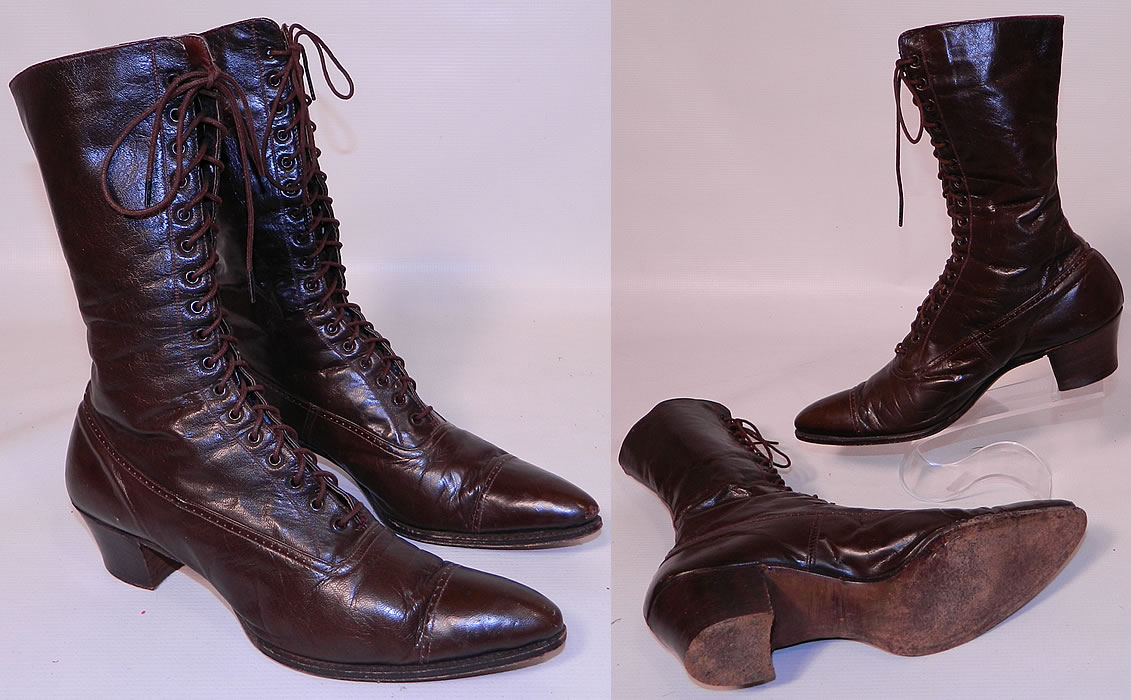 Old Fashioned Looking Boots