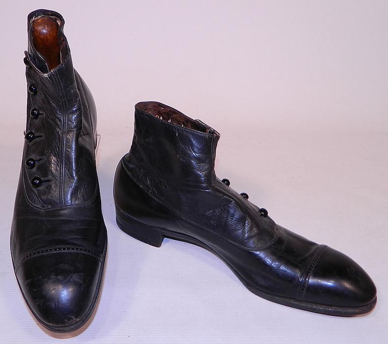 Vintage Button Boots