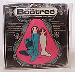 Vintage Peek A Bootree Inflatable Shoetree Boots Pair Inserts Retro Mod Women Unused MIP